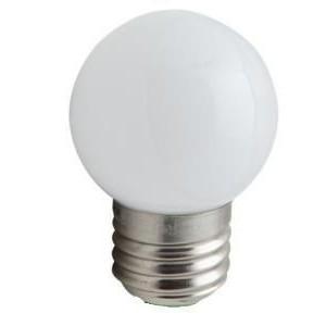 LED kogellamp E27 mat warmwit 2 watt Dimbaar