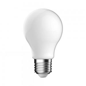 LED Standaard lamp E27 5,2W Mat Volglas