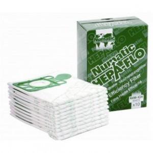 Numatic stofzuigerzakken NVM 1CH Hepaflo