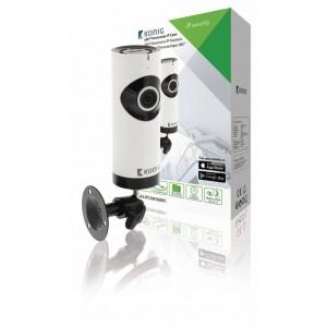 HD IP-beveiligingscamera | 1280x720 | Panorama | Wit / zwart