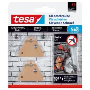 Tesa Klevende Schroef bakstenen driehoek 77904 5 kg