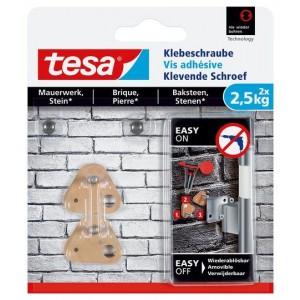 Tesa Klevende Schroef bakstenen driehoek 77901 2,5 kg