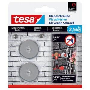 Tesa Klevende Schroef bakstenen rond 77903 2,5 kg