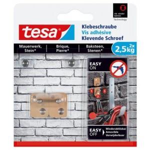 Tesa Klevende Schroef bakstenen vierkant 77902 2,5 kg