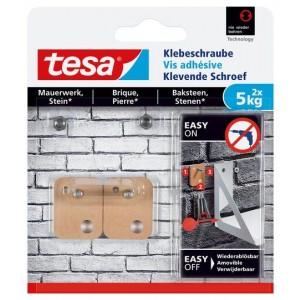 Tesa Klevende Schroef bakstenen vierkant 77905 5 kg