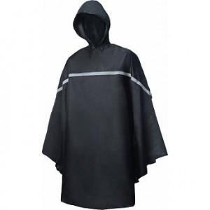 Poncho L/XL Zwart