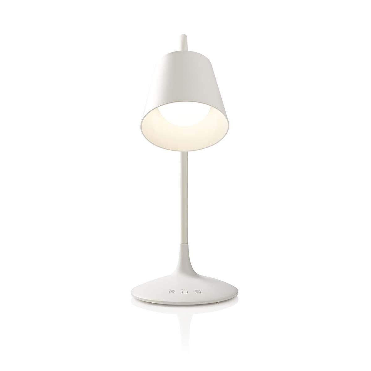 Dimbare LED tafellamp   Aanraakbediening   3 lichtmodi   Oplaadbare batterij   150 lm